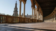 Spain square gallery Stock Footage