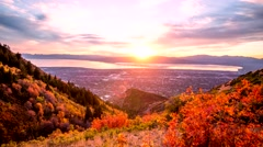 Utah Valley Time-lapse Stock Footage