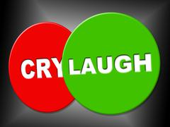 laugh sign meaning ha laughs and message - stock illustration