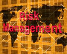 risk management meaning directorate peril and directors - stock illustration