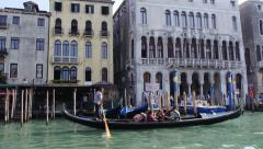 Stock Video Footage Grand Canal Venice traffic Stock Footage