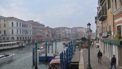 Stock Video Footage Grand Canal Venice Stock Footage