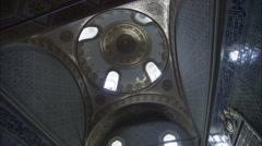 Topkapı Palace Relic's room Stock Footage