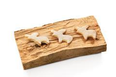 Gingerbread christmas reindeer cookies Kuvituskuvat