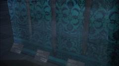 Sacred swords in Topkapı Palace Stock Footage