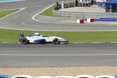eurocup formula renault 2.0 2014 - nyck de vries - koiranen gp - stock photo