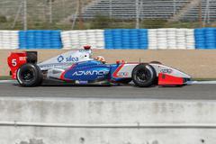 formula renault 3.5 series 2014 - pietro fantin - international draco racing - stock photo