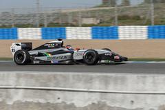 Formula renault 3.5 series 2014 - will stevens - strakka racing Stock Photos