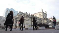 National Opera Of Ukraine. General view Stock Footage