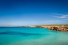 Cala Saona beach - stock photo
