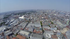 Aerial View from Bras in São Paulo, Brazil. - stock footage