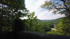 Changing Season Timelapse Mammoth Cave National Park Spring Summer Fall Stock Footage