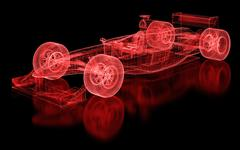 Formula one mesh Stock Photos