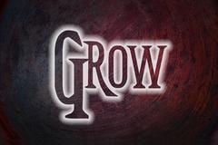 grow concept - stock illustration
