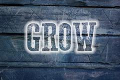 Stock Illustration of grow concept