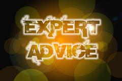 expert advice concept - stock illustration