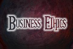 business ethics concept - stock illustration