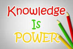 Stock Illustration of knowledge is power concept