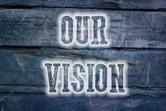 our vision concept - stock illustration
