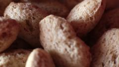 Stock Video Footage of Rotation Crispy Biscuits 2