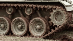 American M24 Chaffee Tank | Grinds to a Halt Stock Footage