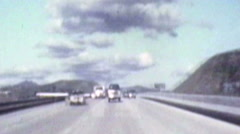 Stock Video Footage of Ventura 101 Rear View 1982