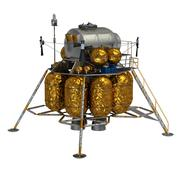 Lunar lander Stock Illustration