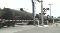 Oil Train Stock Footage