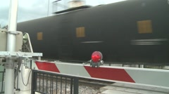 Oil Train Close Up Stock Footage