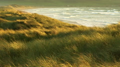 Scotland Sea Coast Stock Footage