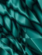 teal stained glass effect background - stock illustration