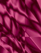 burgundy stained glass effect background - stock illustration