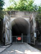 Snoqualmie railroad tunnel Stock Photos