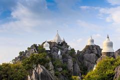 Wat prajomklao rachanusorn at lampang, thailand Stock Photos