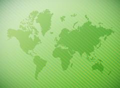 World map illustration design Piirros