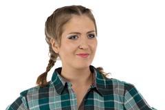 Photo of young farmer woman Stock Photos