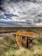 Stock Photo of lincolnshire salt marsh