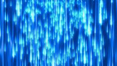 Cosmic rain background Stock Footage