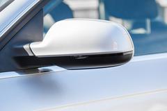 Silver wing mirror Kuvituskuvat
