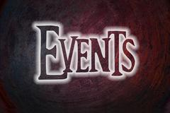 events concept - stock illustration