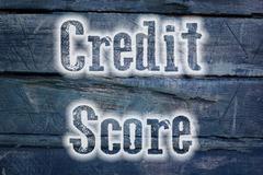Credit score concept Stock Illustration