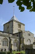 st. nicholas church. arundel. sussex. england - stock photo