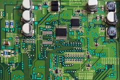 printed circuit boards - stock photo