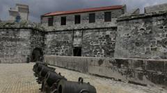 Castillo de la Real Fuerza, Havana Stock Footage
