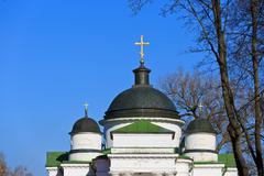 Georgievskaya church cupola Stock Photos