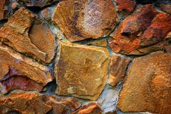 abstract stonework bacground - stock photo