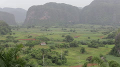 Rural Country Scene in Cuba - stock footage