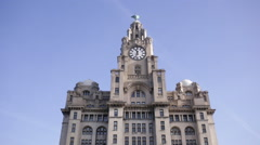 Royal Liver Building Stock Footage