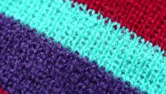Colored Cotton Fabric Stock Footage