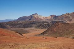 Colourful Mountains of the Atacama Desert - stock photo